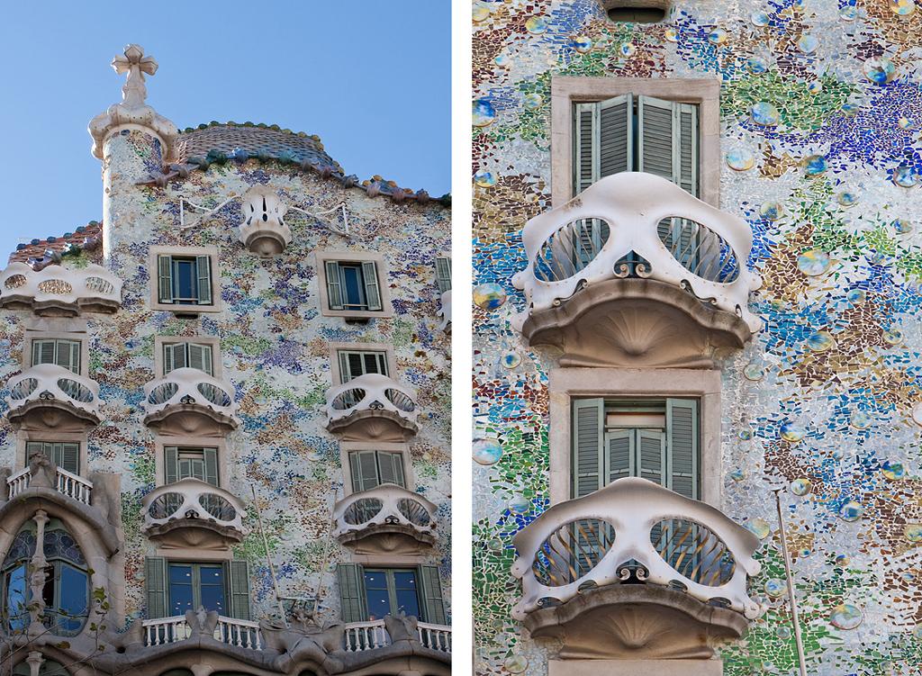 Le monde de gaud gaud s world les photos de suzanne pierre - Casas de gaudi ...